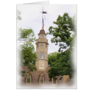 Colonial Capitol Greeting Cards