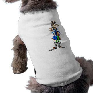 Colonial Cartoon Dog Doggie Tshirt