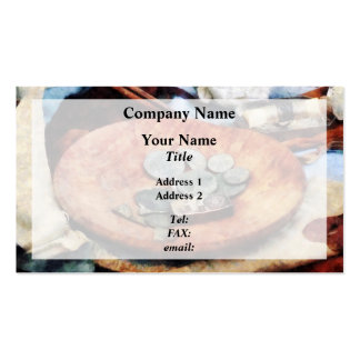 Colonial Coins Business Card Templates