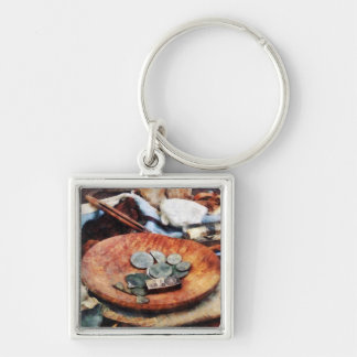 Colonial Coins Keychain