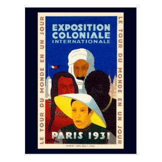 Colonial Exposition Paris 1931 Postcard