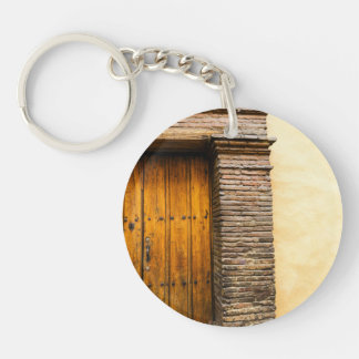 Colonial facades Single-Sided round acrylic keychain