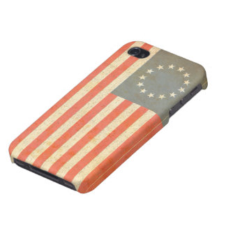 Colonial Flag iPhone 4/4S Hard Shell Case