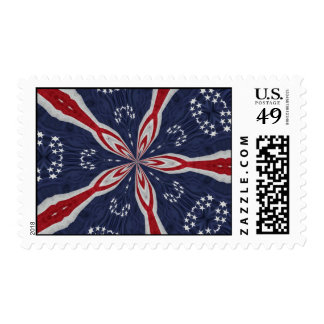 Colonial Flag Kaleidoscope Series Stamps