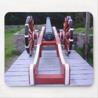 Colonial French Cannon II Mouse Pad