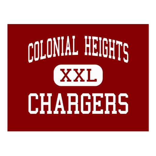 Colonial Heights - Chargers - Middle - Kingsport Postcard