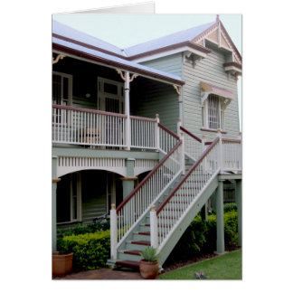 Colonial House Australia Gate Note / Greeting Card