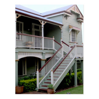 Colonial House in Australia Postcard