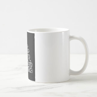 Colonial house mug