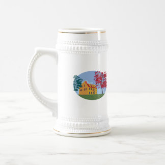 Colonial House WPA Beer Stein
