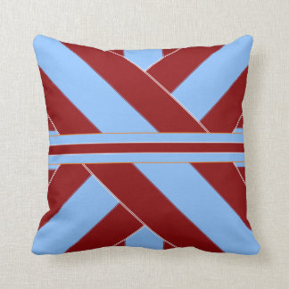 Colonial Independence II Ribbonesque Throw Pillow