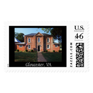 Colonial Jail Postage Stamp