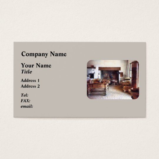 Colonial Kitchen Business Card