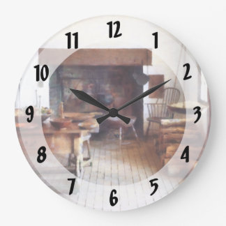 Colonial Kitchen Large Clock