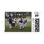 Colonial Marching Band Stamps