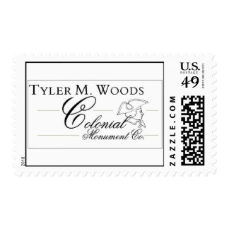Colonial Monument Co. Stamp