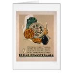 Colonial Pennsylvania 1940 WPA Card