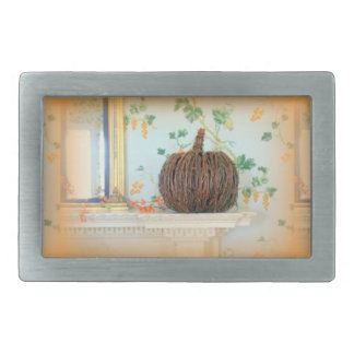 colonial pumpkin belt buckle