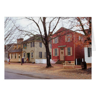 Colonial Shops - Williamsburg Cards