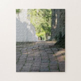 Colonial Sidewalk Jigsaw Puzzle