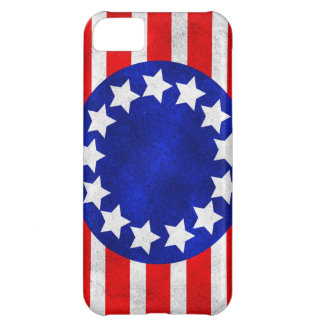 Colonial Stars and Stripes Cover For iPhone 5C