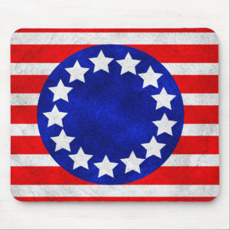 Colonial Stars and Stripes Mousepad
