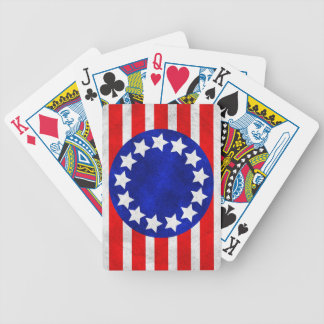 Colonial Stars and Stripes Playing Cards