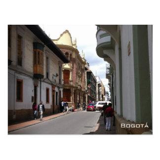 Colonial Street - Bogotá Postcard