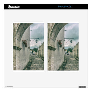 Colonial Street of Arequipa City Peru Kindle Fire Decals