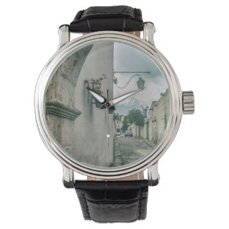 Colonial Street of Arequipa City Peru Wristwatches