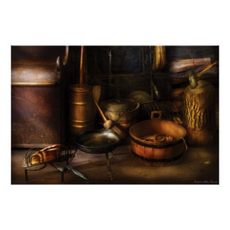 Colonial Utensils Posters