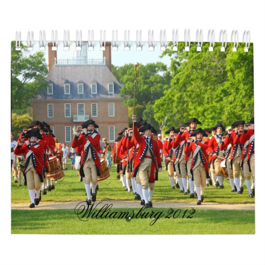 Colonial Williamsburg 2012 Calendar