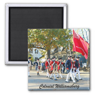 Colonial Williamsburg 2 Inch Square Magnet