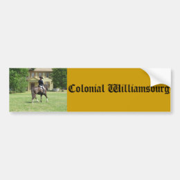 Colonial Williamsburg Bumper Sticker