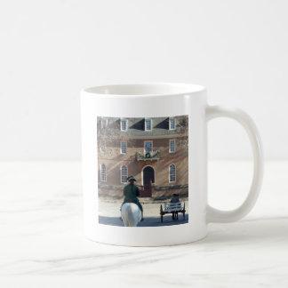 Colonial Williamsburg Man on Horse Coffee Mug
