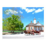 Colonial Williamsburg Post Card