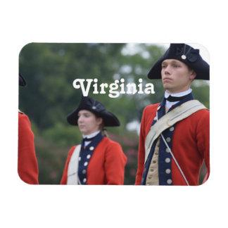 Colonial Williamsburg Vinyl Magnet