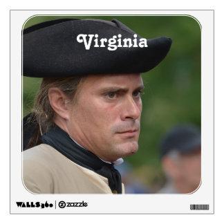 Colonial Williamsburg Soldier Room Sticker