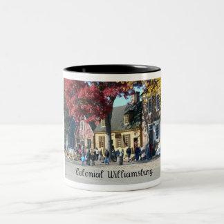 Colonial Williamsburg Two-Tone Coffee Mug