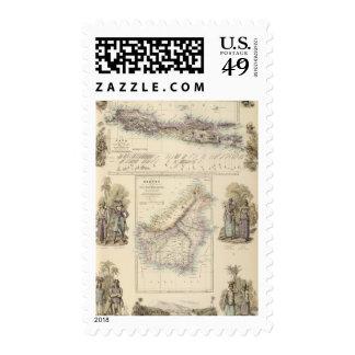 Colonias holandesas principales en los mares sellos