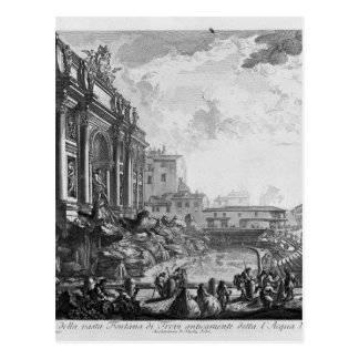 Colonna Antonina by Giovanni Battista Piranesi Postcard