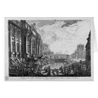 Colonna Antonina de Giovanni Battista Piranesi Tarjeta De Felicitación