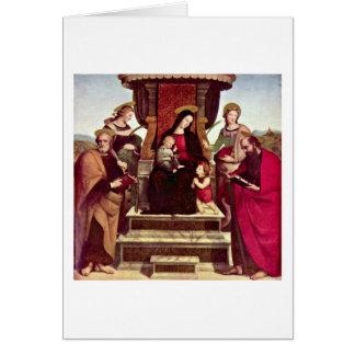 Colonna Main Altar By Raffael Card