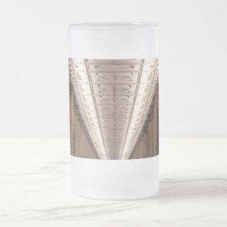 Colonnade Alte Nationalgalerie in Berlin Germany Frosted Beer Mugs