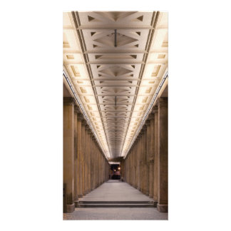 Colonnade Alte Nationalgalerie in Berlin Germany Photo Card Template