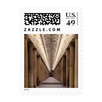 Colonnade Alte Nationalgalerie in Berlin Germany Postage Stamps