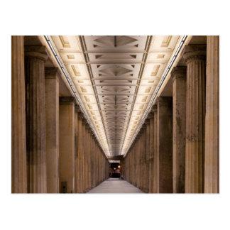 Colonnade Alte Nationalgalerie in Berlin Germany Postcard