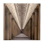 Colonnade Alte Nationalgalerie in Berlin Germany Tiles