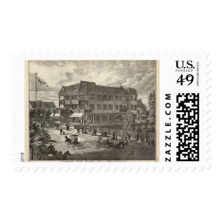 Colonnade House, Atlantic City Postage Stamp