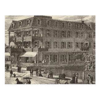 Colonnade House, Atlantic City Postcard
